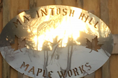 Macintosh Hill Maple Works marquis on Sugar House