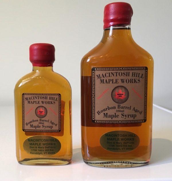 Vermont bourbon Barrel Aged Syrup
